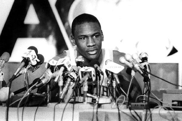 Michael Jordan Draft