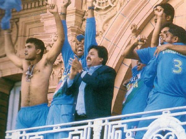Sourav Ganguly Celebration