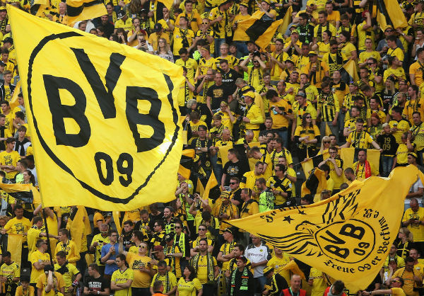 Fan base of Borussia Dortmund