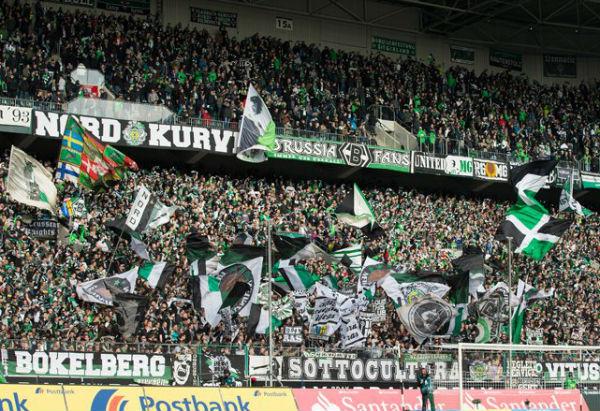Fan base of Borussia Monchengladbach