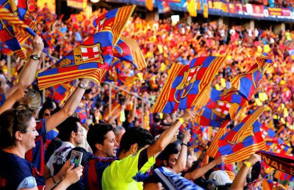Fan base of FC Barcelona