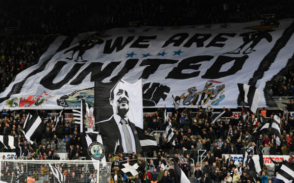 Fan base of Newcastle United